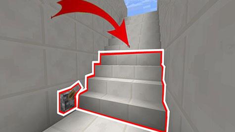 教你制作隐形楼梯门