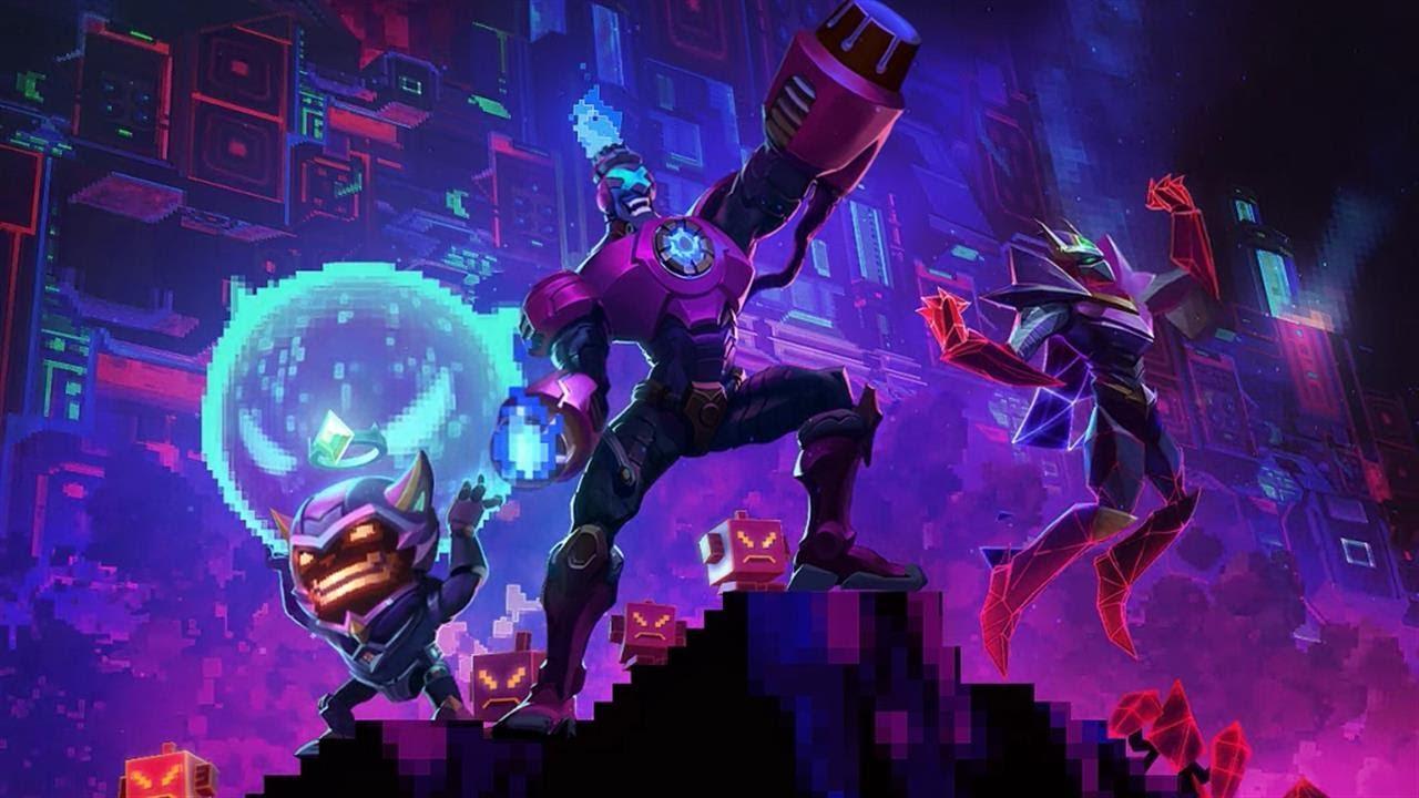 英雄联盟电玩主题登陆界面预览